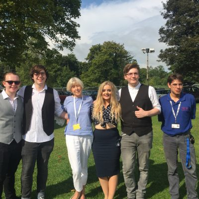 Young Vintage: Virginia with Charlie-Anne, Jacob, Callum & Handy with Fred Hart of Corinium Radio